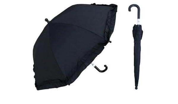 51751a9a32ea Amazon.com: Girls Black Parasol 34 Kids Rain Umbrellas - 6/Case ...