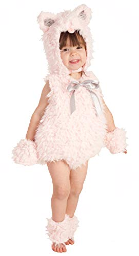 Princess Paradise Shaggy Pink Kitty Costume, Extra Small
