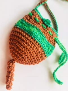 Amazoncom Amulet Crochet Necklace Pouch Handmade Crochet