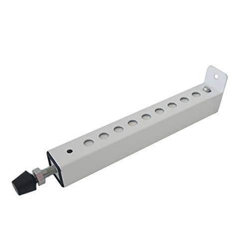 Jeacent A/C Security Window Lock Bar, Door Security Bars - Sturdy Steel, Extends from 7 3/4