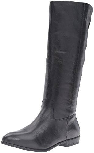 Aldo Women's Keesha Riding Boot, Black Leather, 8.5 B (Aldo Black Leather)