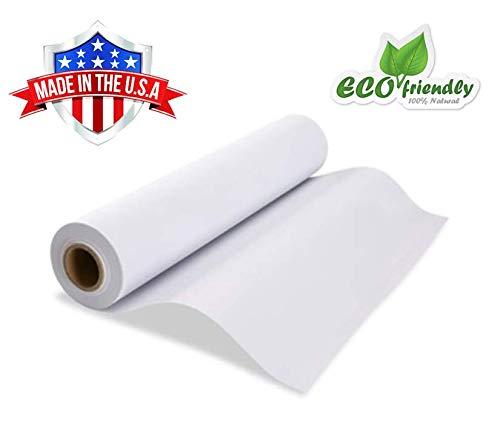 White Kraft Easel Paper Roll 17.75