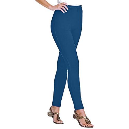 Women's Plus Size Tall Leggings In Stretch Knit 80%OFF ...