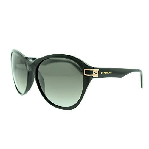 Givenchy SGV925 700X Black Oversize Plastic Frame Women's - Givenchy Oversized