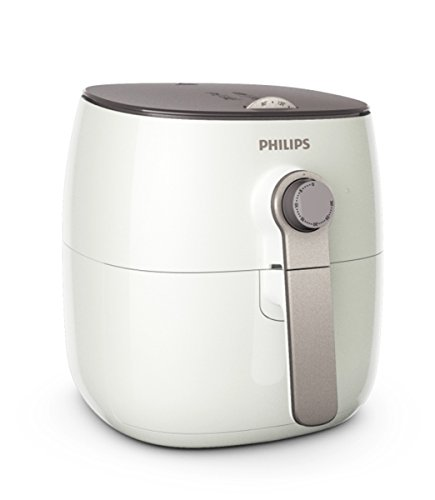 Philips TurboStar Technology Airfryer, Analog Interface, White - 1.8lb/2.75qt-HD9621/26