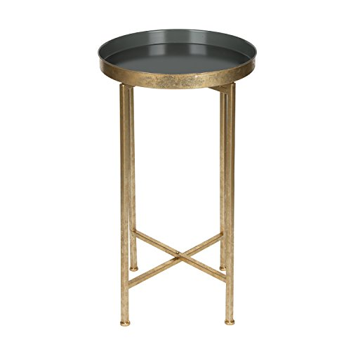 Gold Metal Plant Stand - 8