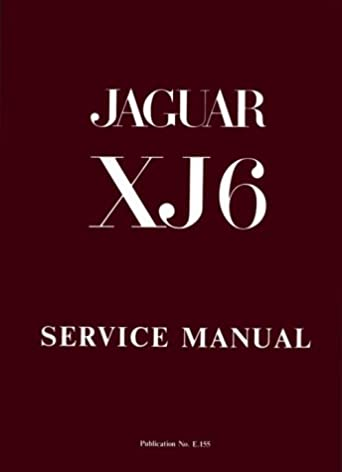 the jaguar xj6 series 1 2 8 and 4 2 litre workshop manual jaguar rh amazon com 1995 Jaguar XJ6 1987 Jaguar XJ6