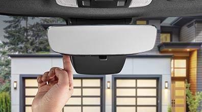 TOYOTA Genuine Corolla /& Rav4 Frameless Homelink Rear View Mirror PT374-00210