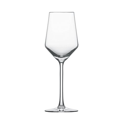 Schott Zwiesel Tritan Crystal Glass Pure Stemware Collection Riesling White Wine Glass, 10.1-Ounce, Set of 6 (Crystal Set Wine)