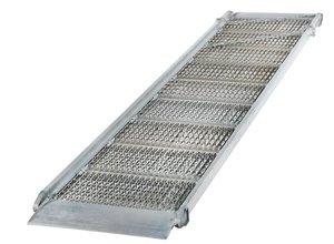 7'L x 38''W 2800lb Aluminum Grip-Strut Walk Ramp
