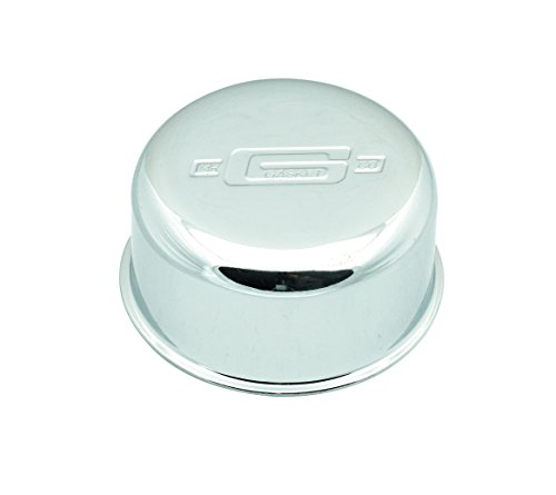 Gasket Breather Mr - Mr. Gasket 2057 High Performance Push-On Breather - Chrome