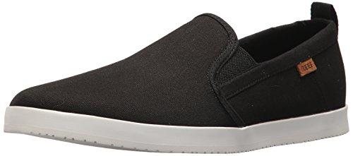 Reef Herren Grovler Sneaker Mehrfarbig (Black/White Blw)