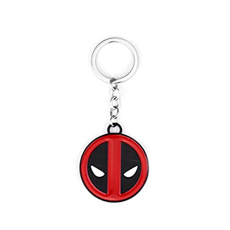 Amazon.com: Key Chains - 10Pcs DC Anime 3D Deadpool Mask ...