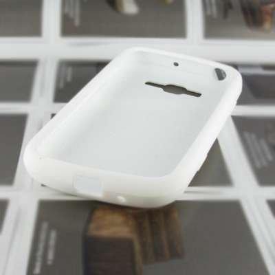 EMPIRE AT&T Samsung Focus 2 I667 Silicone Skin Case Tasche Hülle Cover (Weiß)