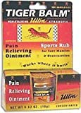 Tiger Balm 18 Gram Ultra Strength Athritis and Muscle Pain Relieving Ointment