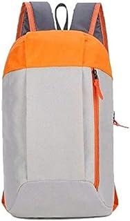HATCHMATIC Sac à Dos Orts Femmes Hommes 10L étanche Grande capacité Sac ort Voyage léger Sac à Dos extérieur # 15: g et Orange
