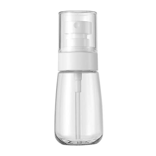 HaloVa Spray Bottle, PETG Materials Plastic Bottle, Leakproof Dustproof Small Fine Mist Bottle for Cleaning Travel Essential Oils Perfume Makeup Remover, 2 Ounces ()