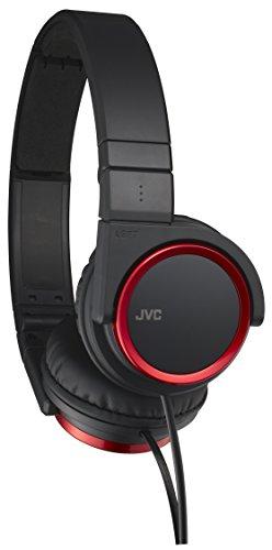 (JVC Victor Head-band Foldable Headphones | HA-S400-R Red (Japanese Import) )