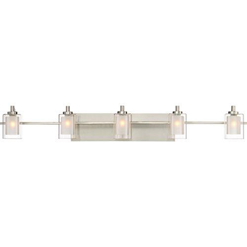 Quoizel KLT8605BNLED Kolt Modern Vanity Bath Lighting, 5-Light, LED 22.5 Watts, Brushed Nickel (6