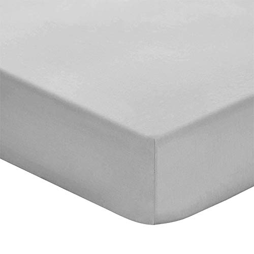 Prime Deep Pocket Fitted Sheet  Brushed Velvety Microfiber  Breathable Extra Soft and Comfortable  Winkle Fade Stain Resistant Grey California King