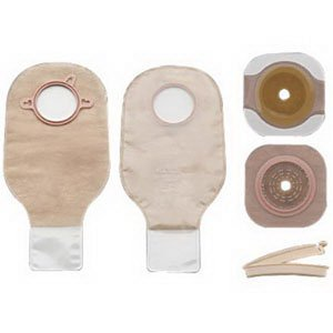 New Image Two-piece Drainable Colostomy/Ileostomy Kit 2-1/4
