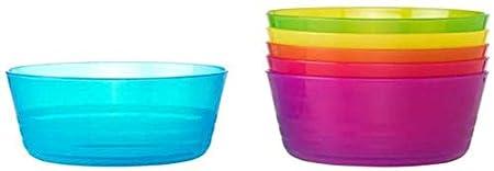 KALAS Children Color Bowls Pack of 6 X IKEA