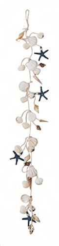 "Worth Imports 30"" Hanging Shell & Starfish Garland"