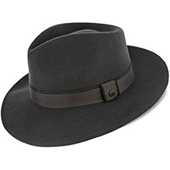 9308a2704c6 Amazon.com  Imperial - Walrus Hats Center Dent Wool Felt Fedora Hat ...
