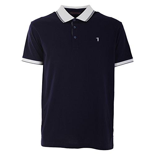 trussardi-mens-52t9148-blue-cotton-polo-shirt