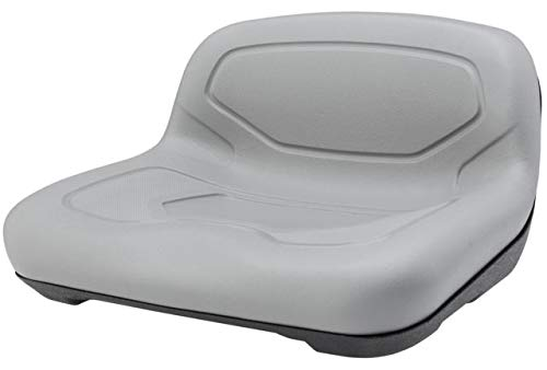 Low-Back Plastic Seat