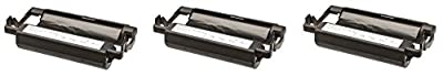 3 black compatible replacement Brother Intellifax 1170 1270 1270e thermal Fax printer ink ribbon roll cartridge to replace PC-201 PC201 Intelli-fax machine
