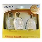Sony 900 MHz BabyCall Sound-Sensor Nursery Monitor with 2 Receivers (Baby Call), Baby & Kids Zone