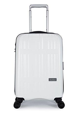 [アントラー] Jupiter スーツケース ジュピター 10年保証 軽量 大径キャスター 機内持込 小型 容量38L 縦サイズ55cm 重量2.5kg AJUZ-49 B00RCM5176 アリボリー アリボリー