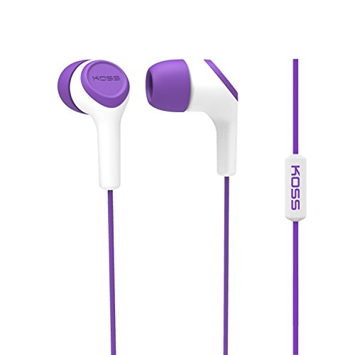 Koss KEB15i In-Ear Headphone, Purple