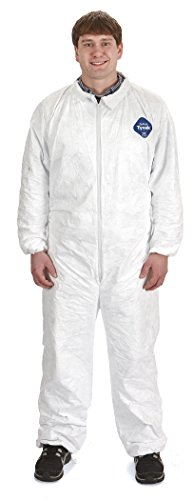 Little Giant Farm & Ag 052849 TYSUITMD Beekeeping Tyvek Coverall, Medium