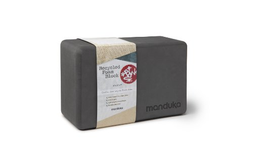 Manduka Recycled Foam Block, Thunder
