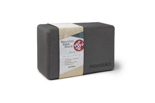 Manduka Recycled Foam Yoga Block, Thunder