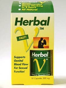 Lanelabs Herbal-V Dietary Supplement 10 Capsules