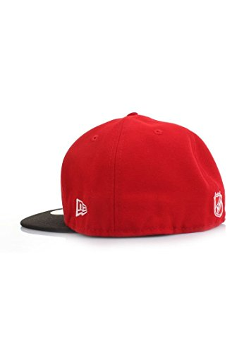 NEW ERA – Casquette Basic de la NHL detroid Redwings – Scarlet de Black