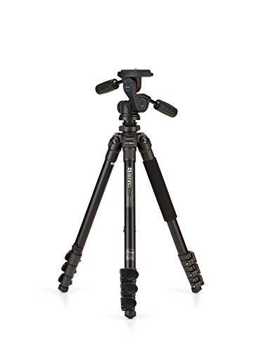 W/2 Bolt (Benro Adventure 2 Series Aluminum Tripod w/ HD2 3-Way Head)