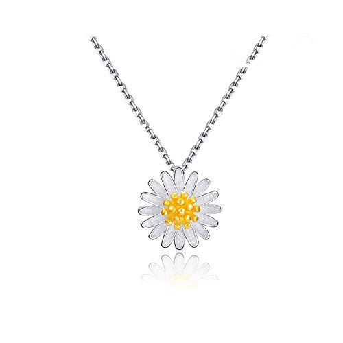 Flyan Charm Daisies Pendant Necklace Gifts for Women ...