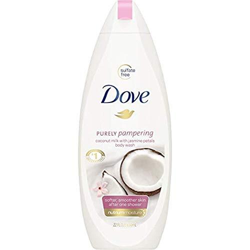 - Dove Purely Pampering Coconut Oil & Jasmine Body Wash - 3 PK x 25 Fl.Oz / 750 ml