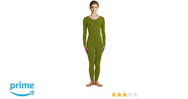 d4f34f3db Amazon.com  VSVO Adult Scoop Neckline Spandex Full Bodysuit Unitard ...