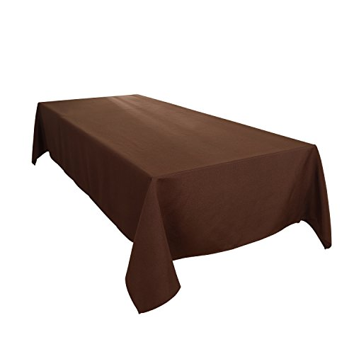 - HIGHFLY Linen Rectangle Tablecloth 60 X 102 Inch Waterproof coffee Tablecloth for Dining room Restaurant Wedding Party