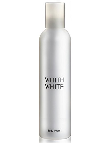 - WHITH WHITE Whitening Dry Skin Moisturizer Body Milky Cream Lotion Emulsion, Made in Japan 日本, Reduces Wrinkles blotchiness and darkness, Contains Hyaluronic Collagen, 7.1 Ounce(200g)
