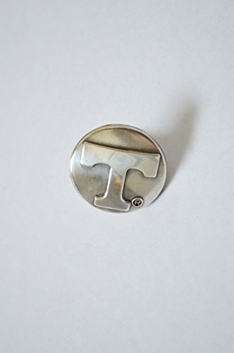 6 Enmon Cabinet Knob Silver Drawer Pull Tennessee Volunteers Letter T Metal NCAA (Pulls Tennessee Drawer)