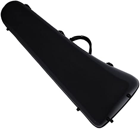 Ortola FTT-01 - Estuche fiber glass trombon bajo, color negro: Amazon.es: Instrumentos musicales