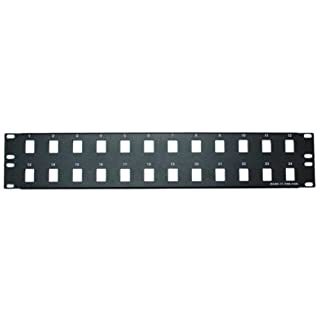 CableWholesale Blank 24 Port Keystone Patch Panel Cable (68PB-01024) (B000I9B1R4) | Amazon Products