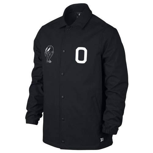 Nike(ナイキ) JORDAN/ジョーダン エアジョーダン11 スペースジャム コーチジャケット (ブラック) B07M68ZVJ3  Large