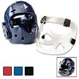 Century Full Head Gear with Face Shield-Blue Adult Medium